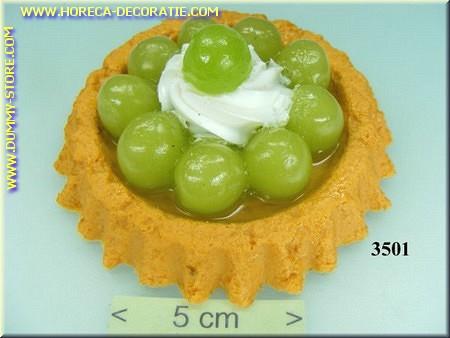 Cake, druiven - Attrappe