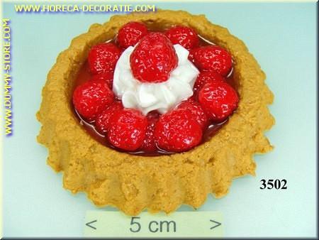Cake Aardbeien - namaak - dummy
