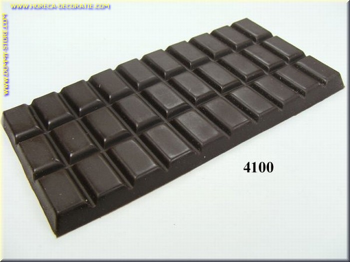 Chocolade tablet, puur