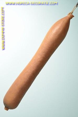 Schlackwurst, L: 47 cm - Attrappe