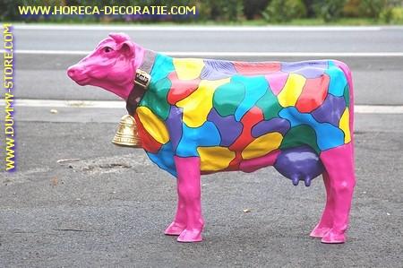 Koe met bel in kleuren, nr.2