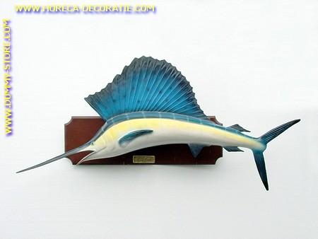 Zwaardvis, 1,95x 0,27x0,78 meter