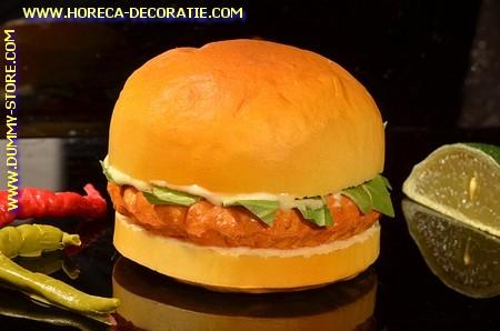Hamburger (broodje) Attrappe