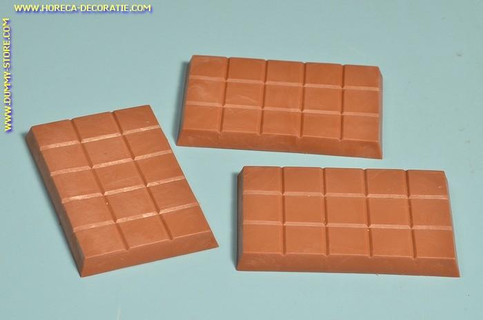 Chocolade tablet, melk, 3 stuks