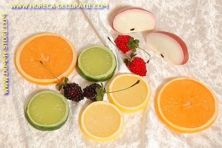 Fruitpakket B, 12 delig - Attrappe