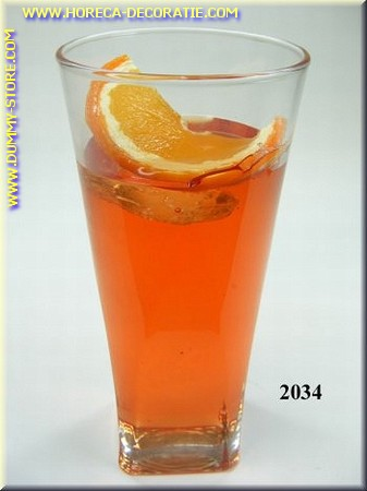 Glas Orange Daiquiri - Attrappe