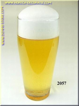 Glas Bier, 0,4 liter - dummy