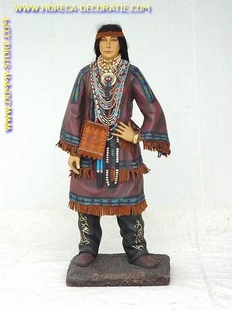 Indianer Frau, Höhe: 1,03 Meter