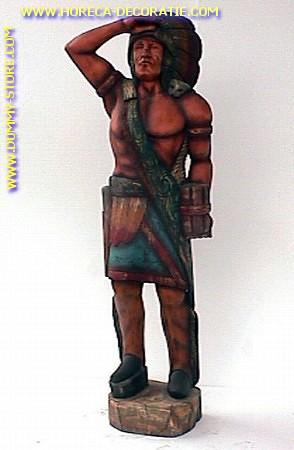 Indianer, Höhe: 1,83 Meter