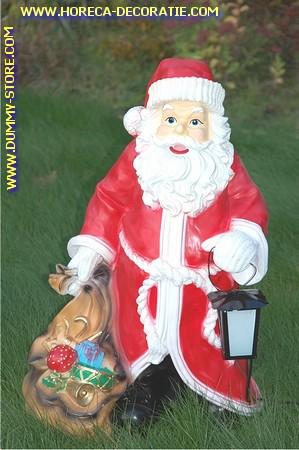 Kerstman, hoogte: 75 cm
