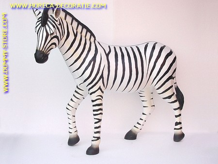 Zebra, h: 1,67 mtr, l: 1,90 mtr