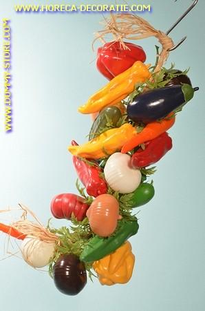 Gemüse Strang, 22 stück - Attrappe