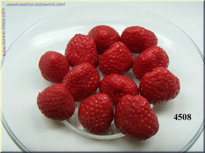 Aardbeien zonder spin, 12 stuks - dummy