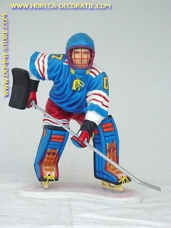 IJshockey speler, hoogte: 0,90 meter