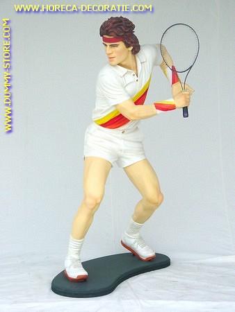 Tennis speler, hoogte: 1,85 meter