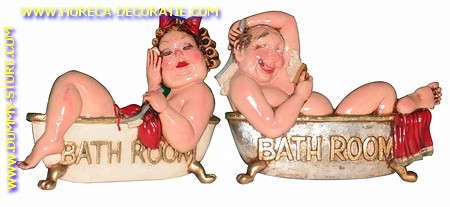 Bathroom signs (2 pcs.)