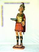 Romeinse ridder butler, hoogte: 1,74 meter