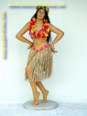 Hawai dame, hoogte: 1,80 meter