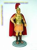 Romeinse ridder, hoogte: 1,13 meter