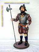 Spanish Knight, h: 1,00 meter