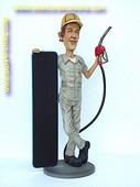 Gasoline man, h: 1,82 meter