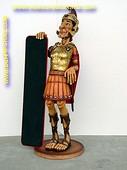 Ridder met krijtbord, hoogte: 1,73 meter