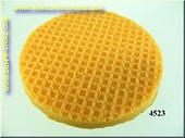 Ice cream waffel round, 5 cm