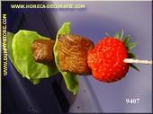 Spiess Erdbeere/Fleisch - Attrappe