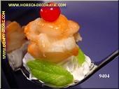 Löffelfüllung Shrimps/Sahne - Attrappe