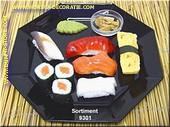 Sushi Menu 1 (ohne Teller) - Attrappe