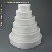 Taartvorm rond, Ø 250 mm, H: 70 mm
