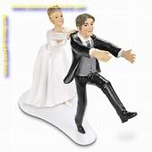 Bruidspaar in polonaise