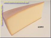 Raclette Käse Stück (mit Rinde ) - Attrappe