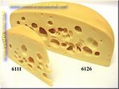 Emmentaler-Käse-1/2 Stück - Attrappe