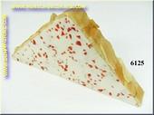 Mandel-Mandarinen-Käse Scheibe - Attrappe