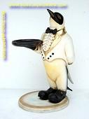 Penguin butler, h:0,68 meter