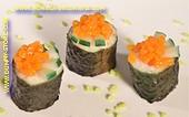 Maki Sushi met Kaviaar en Augurken - Attrappe