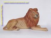 Leeuw, liggend, L: 1,47 mtr, H: 0,47 mtr, B: 0,64 mtr
