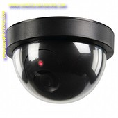 Bewakings Dome camera Dummy ZWART