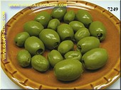 Olives, 20 pcs, GREEN