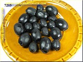 Olives, 20 pcs, BLACK