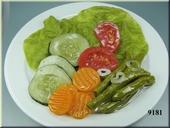 Gemengde salade schotel - dummy