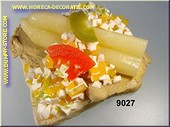 Spargel Toast - Attrappe