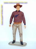 John Wayne, hoogte: 1,95 meter