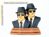 Blues Brothers, buste, h: 0,53 meter