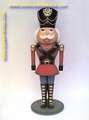 Speelgoed soldaat, hoogte: 2,12 meter
