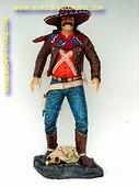 Mexicaanse cowboy, hoogte: 1,70 meter