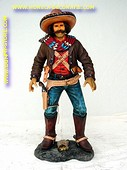 Mexicaanse cowboy, hoogte: 1,08 meter