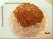Spaghetti, Bolognese - Attrappe