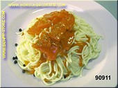 Spaghetti, with Tomatosauce